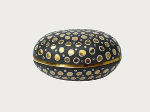 Gold Mosaic Egg Box