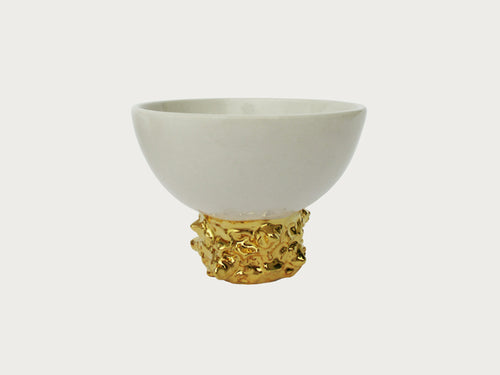 Gold Artifact Small Tall Bowl