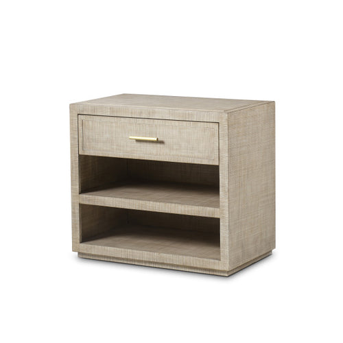 Raffles Nightstand - 1 Drawer / Natural
