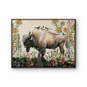 Thicket Design, Bison Painting 2