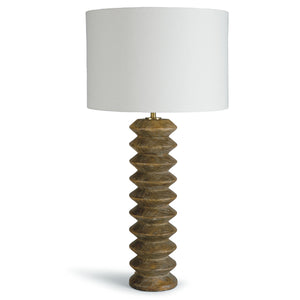 Accordion Table Lamp (Natural)