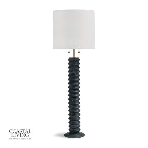 Accordion Floor Lamp (Ebony)
