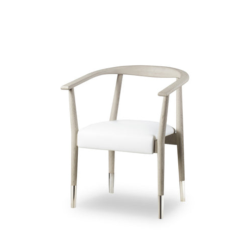 Soho Dining Chair - Gray Oak / Fallon White