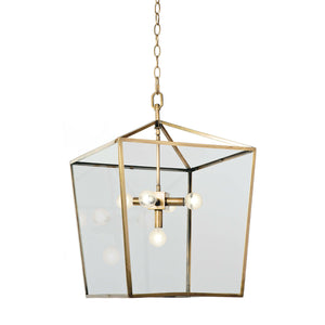 Camden Lantern (Natural Brass)