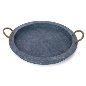 Aegean Serving Tray Indigo