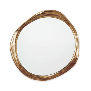 Ibiza Mirror (Antique Gold)