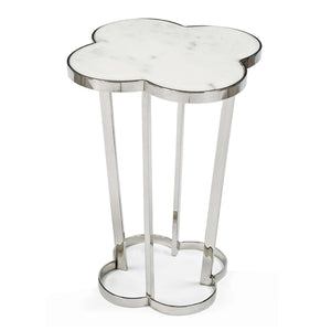 Clover Table (Polished Nickel)