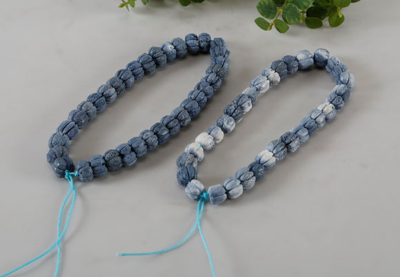 Decorative Light Blue Coral Tassels