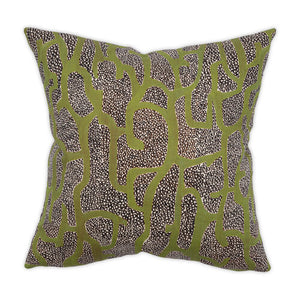 Gracie Green 22x22 Pillow
