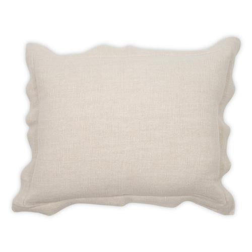 Blake Cali Linen Bone 24x24 Pillow