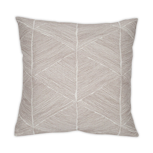 Blurred Lines Taupe 20x20 Pillow