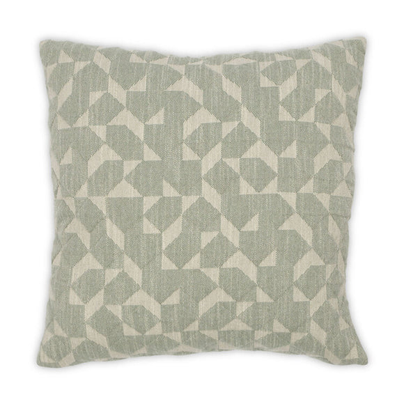 Gemini Slate 22x22 Pillow