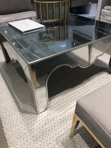 Mirror Top Coffee Table 48x48