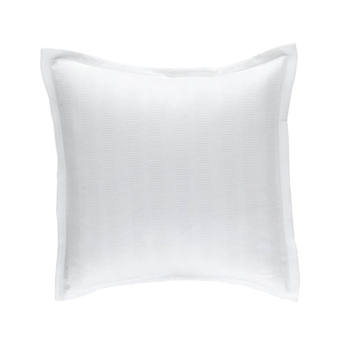 Stela European Pillow 100% White Cotton Matelass 26X26