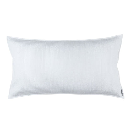 Retro King Pillow/White Cotton 20 X 36