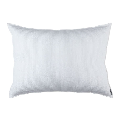 Retro Luxe Euro Pillow/White Cotton 27 X 36