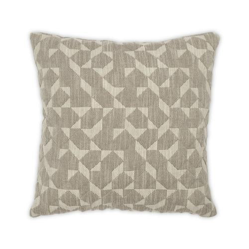 Gemini Taupe 22x22 Pillow