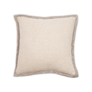 Madison Safari Oatmeal w/ Fargo Smoke 22x22 Pillow