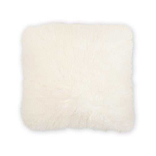 Mongolian White 20x20 Pillow