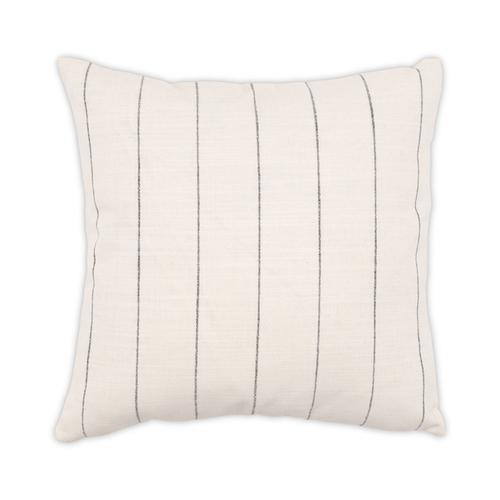 Napa White 22x22 Pillow