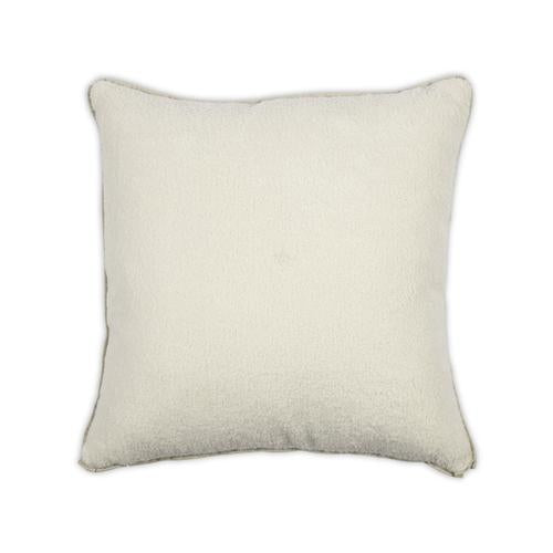 Poodle Cream 22x22 Pillow
