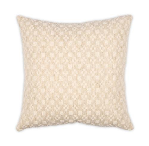 Orlando Cream 22x22 Pillow
