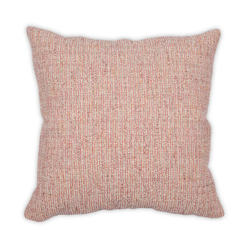 Tweedledee Coral 22x22 Pillow