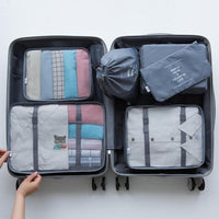 (6 Pcs)Luggage Packing Organizer Set