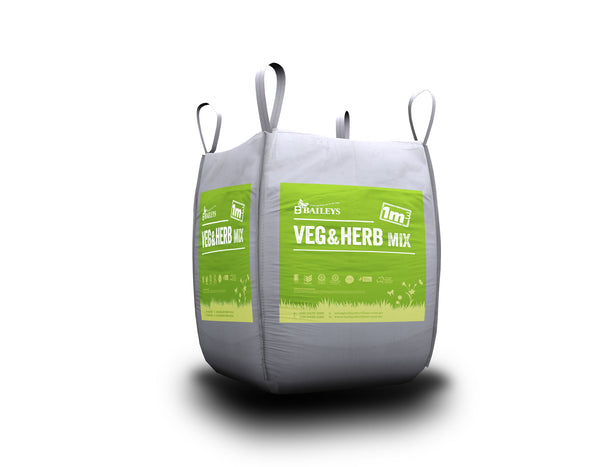 Veg & Herb Planting Mix - Bulka Bag (1m³)