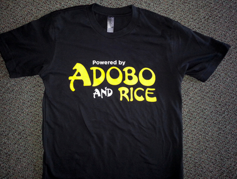 Powered by Adobo T-shirt