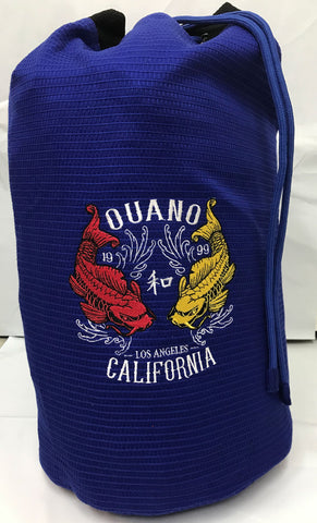 Blue Goldweave Koi Gi bag