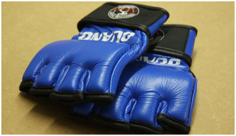 Ouano MMA Gloves - Blue or Black