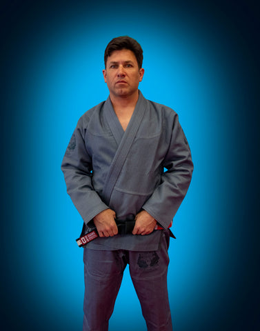 Adult Ouano Gray 450 Goldweave Gi