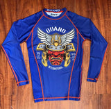 Samurai long sleeve rashguard