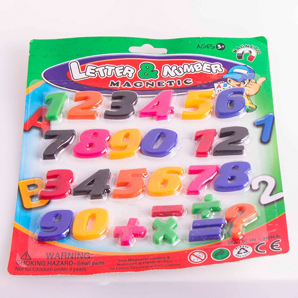Maths Number Fridge Magnets Learning Toys Gift 1 PC Magnetic Alphabet Letter