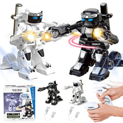 2.4G Somatosensory Remote Control Battle Robot Toy Two-player Competitive Fight Children's Robot Model Toys For Kids Gift