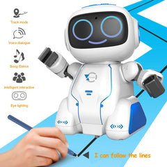 Intelligent Voice Dialogue Voice Control Orbit Puzzle Robot Education Toy Early Education Toy
