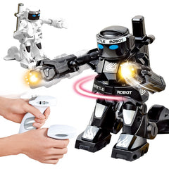 2.4G Body Sense Battle remote control robot RC intelligent robot  Combat Toys For Kids Gift Toy With Box Light And Sound Boxer