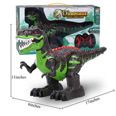 Jurassic Park Large Dinosaur Robot Rc Toys Tyrannosaurus Rex Electric Dino Model with Sounds Chirstmas Gifts for Kids