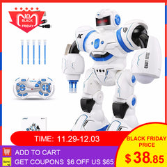 JJRC R3 RC Robot Kit CADY WILL Sensor Control Intelligent Combat Dancing Gesture Robot Toys for Kids Christmas Gift VS R1 R2