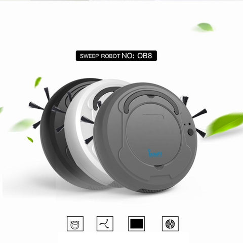 Multi-functional Intelligent Sweeping Robot Auto Rechargeable Smart Sweeping Robot Dry Wet Sweeping Vacuum Cleaner