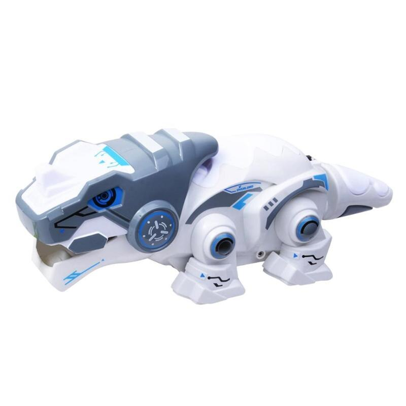 RC Robots Animals Dinosaur Electric Luminous Educational RC Toys w/Sound Toys for Gifts