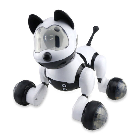 abay 2019 hot Voice Control Free Mode Sing Dance Smart Dog Robot YB-08