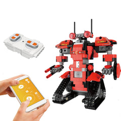 Intelligent RC Robot Building Blocks Technic 2.4GHz Remote Control Robot Educational Bricks Robot Toys for Kids Christmas Gifts