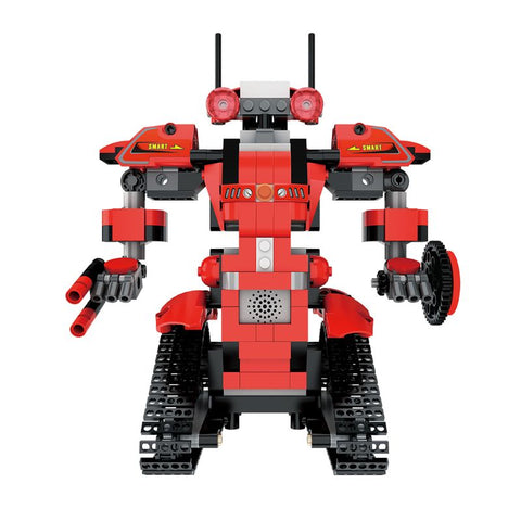 1Set DIY Building Block Robot App Controlled Toy Educational Electric RC Robot Bricks Toys Intelligent Charging Gift for Boys Gi