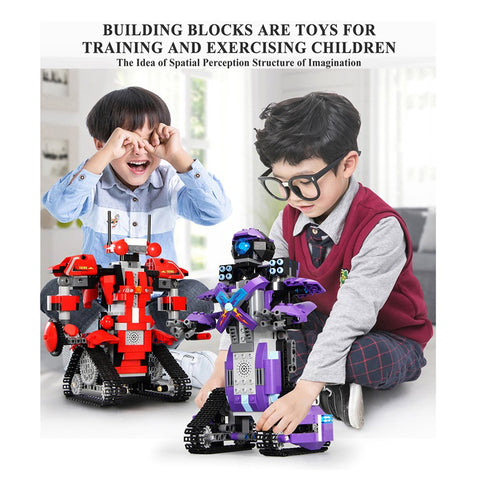 RC App Control Robot New Technic Motor Function Robot Set Building Blocks Bricks Assembly Boys Girls Kids Toys Christmas Gifts