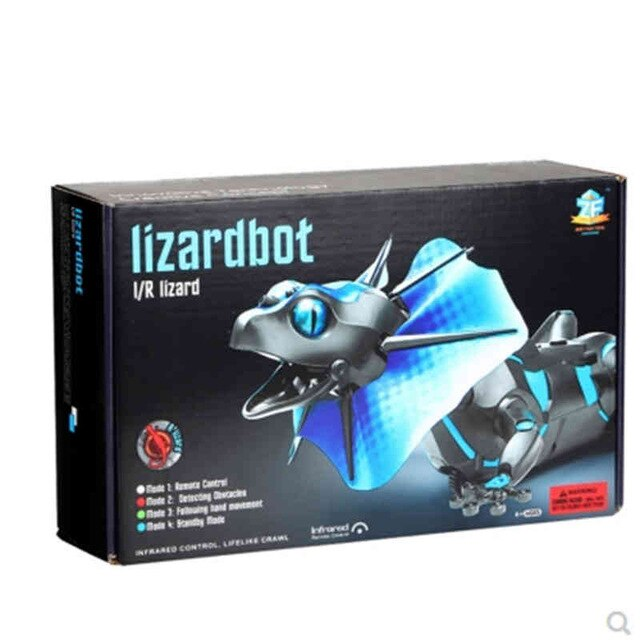 DA XIN Electric RC Remote Control Lizard Robot Infrared Simulation Lizard Lifelike Crawl Funny Tricky Toys For Boys