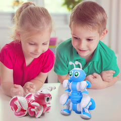 RC Ant Robot Toy Talking Dialogue Robot Ant Intelligent Programming Action Figures Robot Toy for Boys Children Birthday Gifts