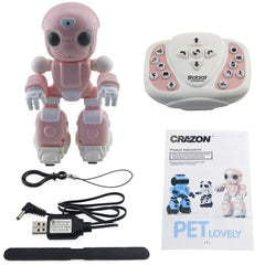 1802 Smart RC Robots Toy Infrared Control Sing Dance Voice Message Record Story Telling Toys Robots for Kids Gifts