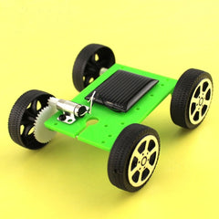 New 1PCS Kids Toys Child Mini Solar Energy Toy DIY Assembly Car Children Educational Puzzle IQ Gadget Robot  Solar Toys